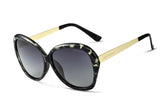 Polarized Mirror Lens Luxury Women's Driving Sun glasses