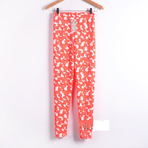 Bow Knot Printed Skinny Trouser - J20Style - 9