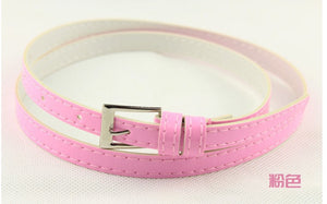 Beautiful Multi-Color Thin Belt - J20Style - 14