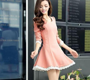 Summer Back Cross Lace-Up Dress - J20Style - 5