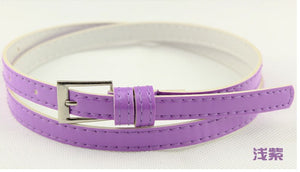 Beautiful Multi-Color Thin Belt - J20Style - 15