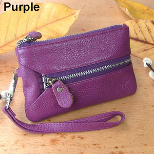 Faux Leather Multifunctional Keychain Handbag - J20Style - 11