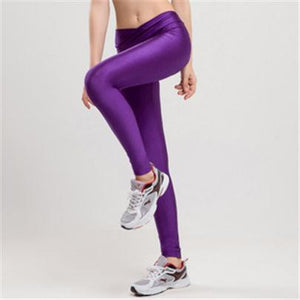 Candy Color Neon Stretched Legging - J20Style - 9