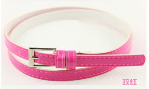 Beautiful Multi-Color Thin Belt - J20Style - 16