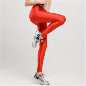 Candy Color Neon Stretched Legging - J20Style - 8