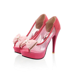Ultra Thin Cut-Out High Heeled - J20Style - 9