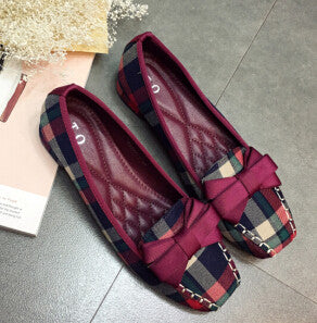 Comfortable Ballet Large Size Flat Shoes
