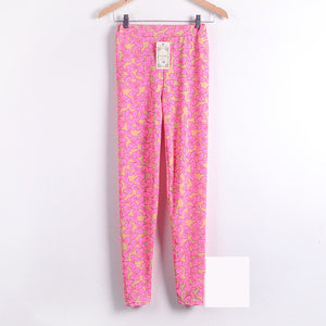 Bow Knot Printed Skinny Trouser - J20Style - 8