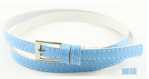 Beautiful Multi-Color Thin Belt - J20Style - 12