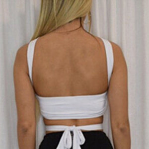 Summer Strap Backless Clubwear Top - J20Style - 10