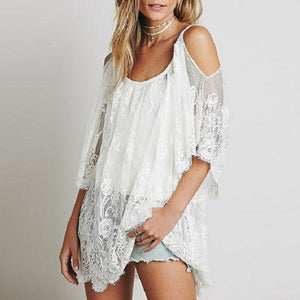 New  Off Shoulder Sexy Beach Mini Dress