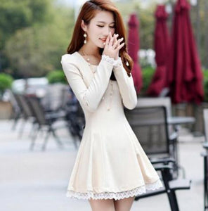Summer Back Cross Lace-Up Dress - J20Style - 7