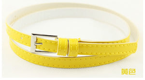 Beautiful Multi-Color Thin Belt - J20Style - 13