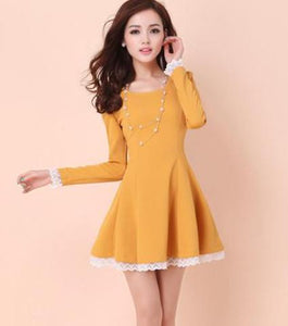Summer Back Cross Lace-Up Dress - J20Style - 8