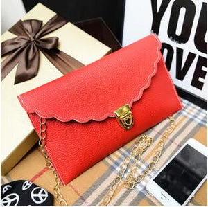 Long Metal Chain Shoulder Bag - J20Style - 14