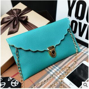 Long Metal Chain Shoulder Bag - J20Style - 8