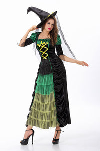 Halloween Two-Piece Witch Costume - J20Style - 4