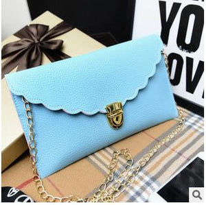 Long Metal Chain Shoulder Bag - J20Style - 9