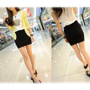 Candy Color Buttock Short Skirt - J20Style - 7