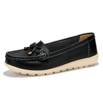 Genuine Leather Slips Leather Loafers Shoes