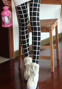Slim Plaid Printed Pencil Pants - J20Style - 7