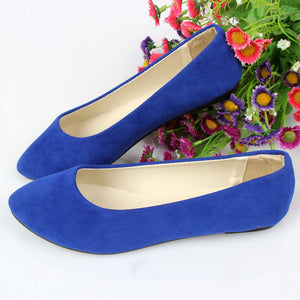 Slip-on Candy Color Comfortable Women Shoes