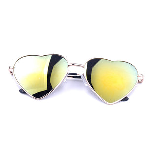 Summer Heart Shaped Vintage Sunglasses - J20Style - 11