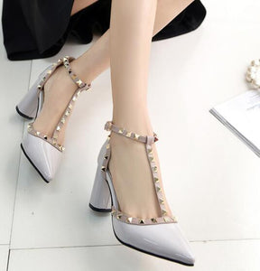 High Quality Buckle High Heels - J20Style - 8