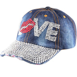 High Quality Lips and Love Letter Cap - J20Style - 4