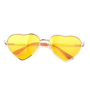 Summer Heart Shaped Vintage Sunglasses - J20Style - 13