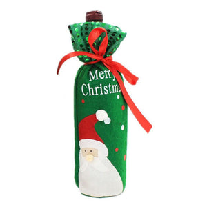 Christmas Bow-Knot Bottle Cover - J20Style - 6