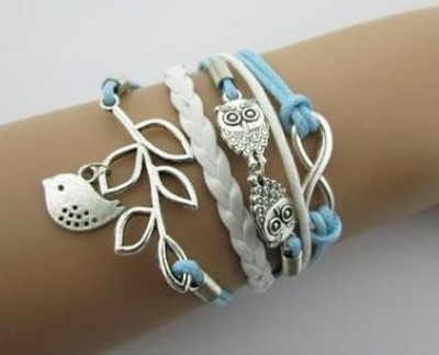 Double Infinite Multilayer Bracelet - J20Style - 1