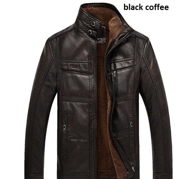 Leather Jacket 3 colors