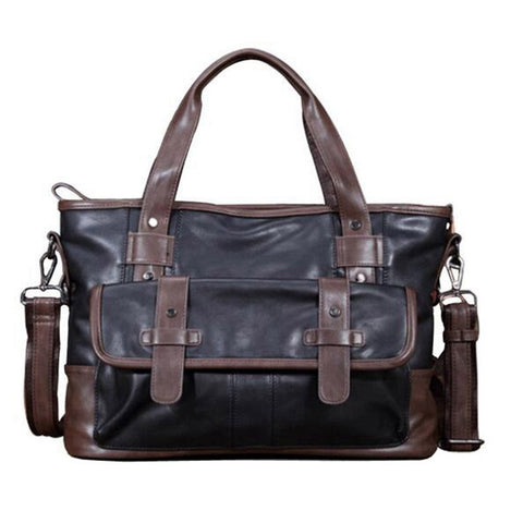 Vintage Business Briefcase Bag For Men