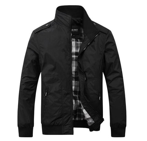 Casual jacket 3 colors Black/ Green/ Khaki