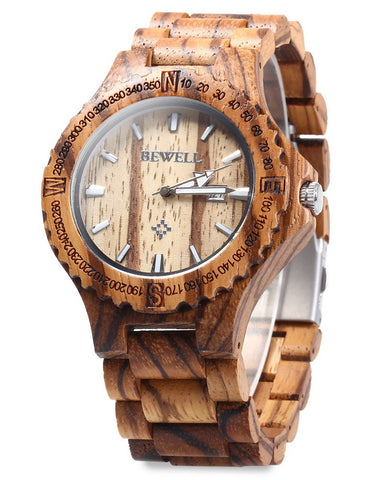 Men's wooden watch (3 colors)