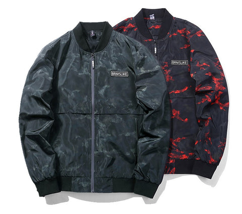 Jacket Men Casual Camouflage 2 colors