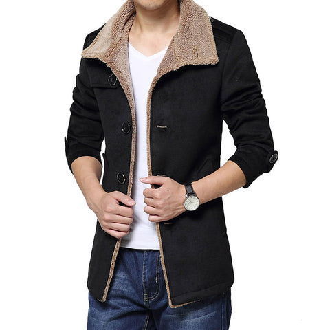 Coat 3 colors Black/ Navy/ Khaki