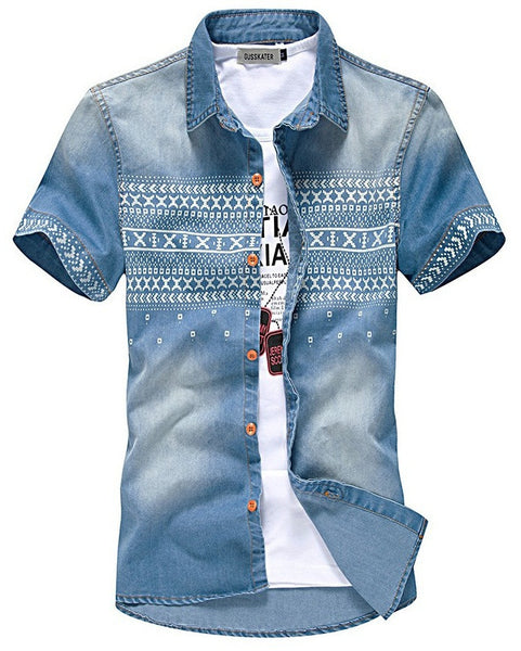 Denim Shirt (2 colors)