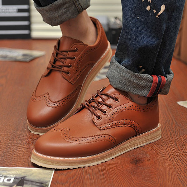 Casual Oxfords Shoes available in 4 colors