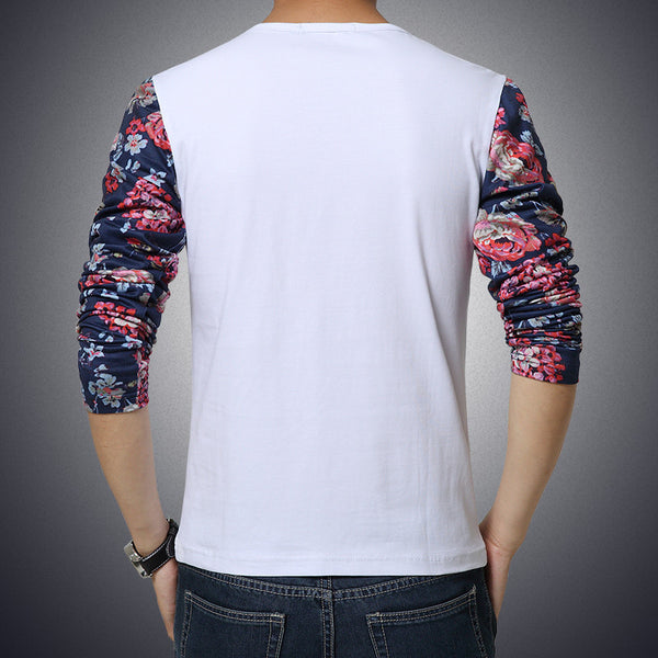 Long Sleeve T-Shirt (2 colors navy/white)