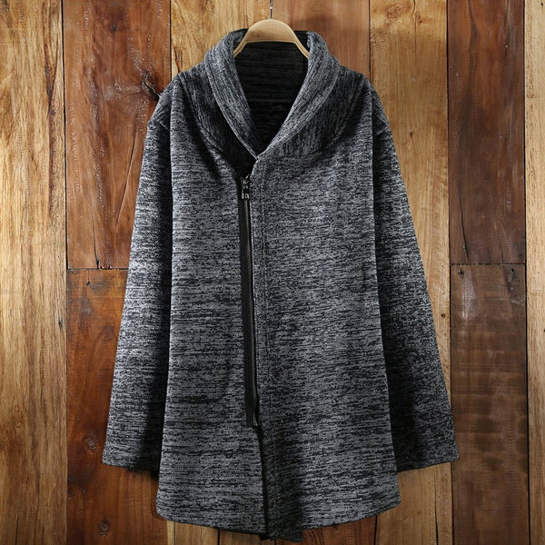 Winter/Autumn/Spring Warm Sweater Western Style Thick Cardigan