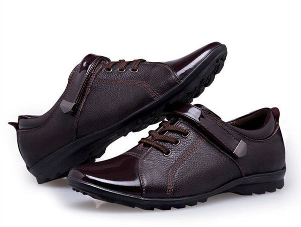 Shoes Genuine Leather available in 2 colors