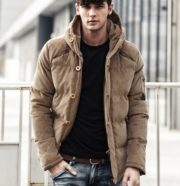 Men's winter jacket 3 colors