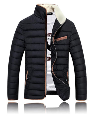 Autumn/ Winter Jacket 4 colors black/ navy blue/ beige/ red