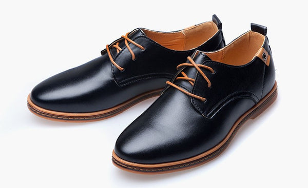 Leather Shoes 3 colors