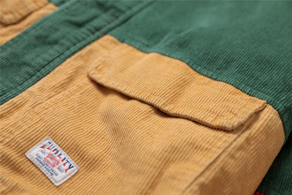Men's corduroy jacket Autumn / Spring 2 colors