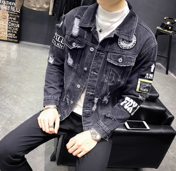 Mens Jacket Denim