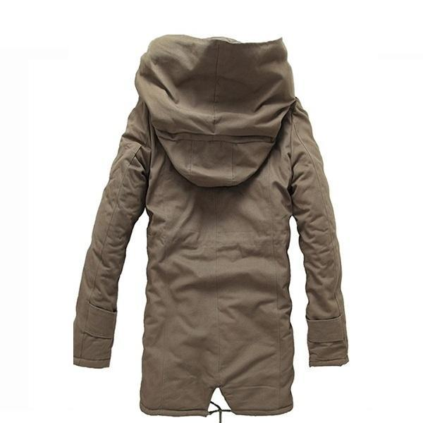 Winter Hooded Parka Jacket (3 colors)
