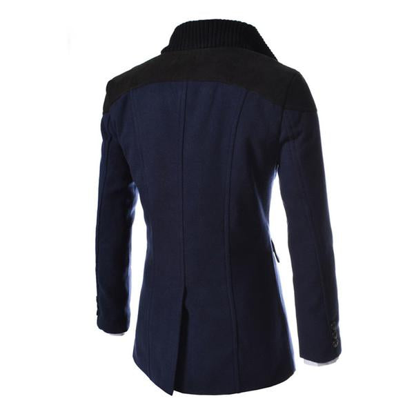Woolen Coats Middle Long 3 colors